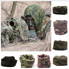 Sniper Hunting Face Army Military Ghillie Suit Net Camouflage Hood Veil Hide