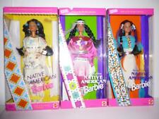 Native American Barbie doll 3 DOLLS of The WORLD Indian 1st 2nd 3rd Sp Ed NRFB