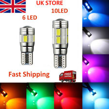 T10 501 W5W CAR SIDE LIGHT BULBS ERROR FREE CANBUS 6 & 10SMD LED XENON HID