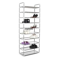 Home DIY Portable Closet Storage Organizer Simple Shoes Rack Stand RLWH