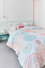 300TC Bedding House Tam Pastel Cotton Percale Quilt Doona Cover Set - Queen King
