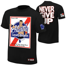 "WWE: John Cena ""Hustle, Loyalty, Respect"" Authentic T-Shirt - Official Store"