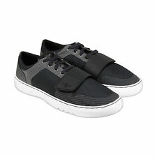 Creative Recreation Cesario Lo Woven Mens Black Grey Textile Sneakers Shoes