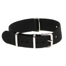 18mm 20mm 22mm Nylon Watch Replacemet Band Strap Watch Stainless Steel Buckle
