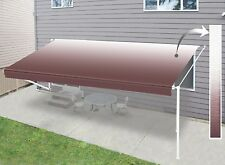 Aleko Retractable RV or Home Patio 10ft. W x 8ft. D Awning