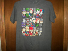 DC Comics Amazing Villains and heros Mini style graphic  t-shirt  NWT S-XL