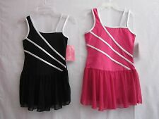 Girls size M 7-8 Leotard Skirted Dance Ballet Gymnastic Pick A Color Capezio NWT