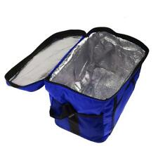 Small Tinfoil Insulated Cooler Cool & Thermo Lunch Bag Box Case Picnic Camping