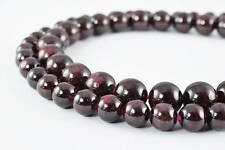 Dark Garnet Gemstone Round Stone Beads size 6mm/8mm/10mm/13mm Strand natural