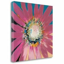 'Sunshine Flower III' by Leslie Bernsen Painting Print on Wrapped Canvas