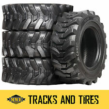 12-16.5 (12x16.5) Camso SKS 532 12-Ply Skid Steer Tires: Pick Your Rim Color