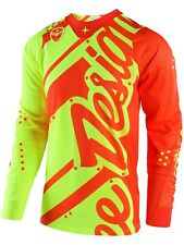 Troy Lee Designs Yellow-Orange 2018 SE Air Shadow MX Jersey