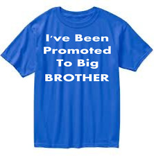 I've Been Promoted To Big Brother Boys Tshirt Boys Clothing Perfect Gift