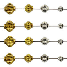 4mm 6mm 8mm Tibetan Silver Gold Round Lantern Pumpkin Spacer Beads Connector