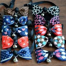 Dog Puppy Cat Bow Tie Necktie Cute New Elegant Bowknot Small Dog Clothes For
