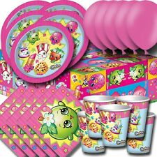 Shopkins Essential Party Pack:Plates, Cups, Napkins, Tablecover, Balloons