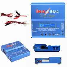 80W iMAX B6-AC B6AC Lipo NiMH 3S RC Battery Balance Digital Charger/Discharger H