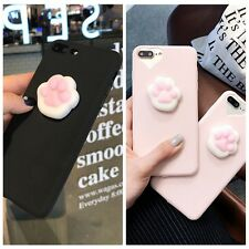 NEW3D Lovely Soft lazy Cat Soft Silicone Phone Case Cover For iPhone 6/6S/7 Plus