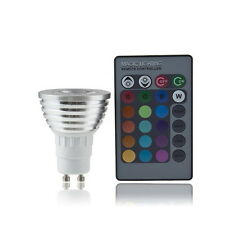 1/5/10 5W E27 Multi Color Change RGB LED Light Bulb Lamp with Remote Control FG