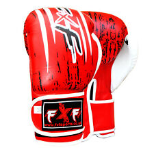 Pro Leather Boxing Gloves MMA Sparring Punch Bag Muay Thai kick boxing Training