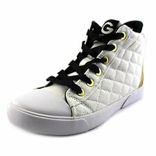 G By Guess Ceeci Women Round Toe Canvas White Sneakers