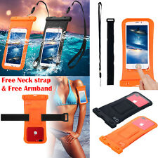 Waterproof Underwater Diving Swimming Dry Pouch Case F iPhone 8 7s 6 Samsung S8+
