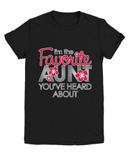 Favorite Aunt Family Gift T-Shirt - Youth Tee