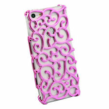 Electroplating Hollow Pattern Hard Case for Apple iPhone 5