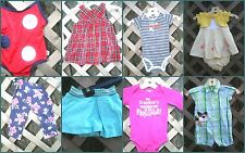 CHOOSE 1 Baby clothes 6-9 mos Boys Girls playsuit 1 pc pants jumper swimst dress
