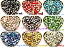 Beautiful mixed colors Lampwork Glass Beads Fit European Charm DIY Bracelet