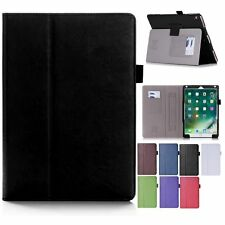 PU Leather Card Slot Wallet Flip Case Cover For New Ipad Pro 10.5 2017+Protector