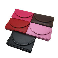 New Pocket PU Leather Business ID Credit Card Holder Case Wallet BBU