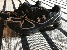 Men Under Armour Cartilage Footsleeve Black Running Athletic Shoes.  9.5