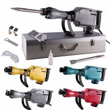 Industrial 2200 Watt Electric Demolition Jack Hammer Chisel Bit Concrete Breaker