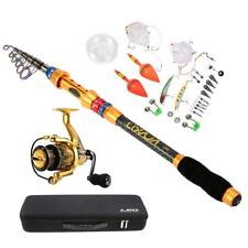 Fishing Lure Rod Reel Set Carrier Bag Case Gear Accessories Organizer New M8X5