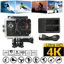2'' 1080P HD 4K SJ8000R WIFI Sport Action Camera DV Cam DVR Waterproof + Charger