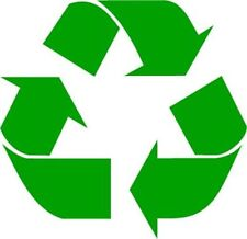Recycle Logo Vinyl Decal Sticker Work or Home Renew and Reuse PICK SIZE