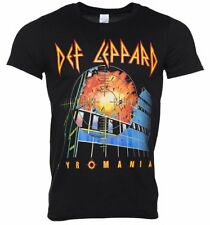 Official Men's Black Def Leppard Pyromania T-Shirt