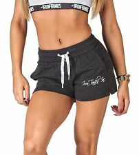 WOMENS IRON TANKS IMPACT COTTON GYM WORKOUT SHORTS BOOTY SPORTS RUNNING S158