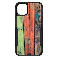 OtterBox Commuter for iPhone 5 SE 6 S 7 8 PLUS X Rough Painted Wood