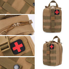 New Tactical MOLLE Rip Away EMT EMS Medical First Aid IFAK Pouch Utility Bag