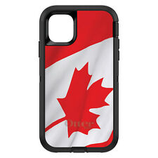 OtterBox Defender for iPhone 6 6S 7 8 PLUS X Red White Canadian Flag Canada
