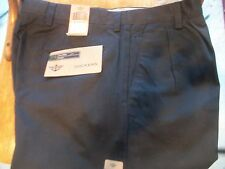 Dockers D4  Pleated Front True Chino Relaxed Fit Pants Black NWT 32x29