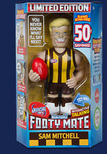 2016 Official AFL Micro Figures Footy Mate, Talking figure,  12 different avail.