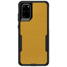 OtterBox Commuter for Galaxy S4 S5 S6 S7 S8 PLUS Yellow Leather Texture