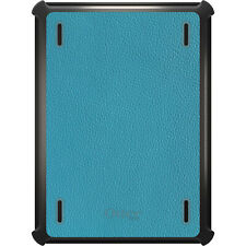 OtterBox Defender for iPad Air Mini 1 2 3 4 Teal Leather Texture
