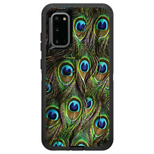 OtterBox Defender for Galaxy S5 S6 S7 S8 S9 PLUS Peacock Feathers