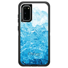 OtterBox Defender for Galaxy S5 S6 S7 S8 S9 PLUS Clear Blue Ice