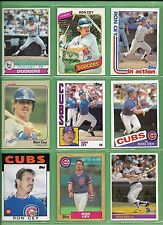 Ron Cey 1979 to 1987 Topps, Fleer or Donruss cards - NM/MT - Starting at $1.94