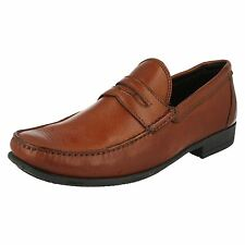 Anatomic & Co 'Castelo' Gents Tan Toast Leather Slip On Loafers